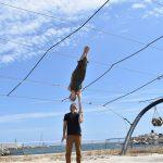 partner acrobatics training